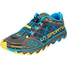 La Sportiva Helios 2.0 Running Shoes Men carbon/tropic blue